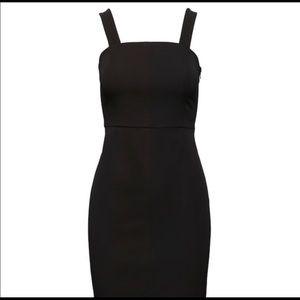 BR NWT Square-Neck Bi-Stretch Sheath Dress (Sz 4)